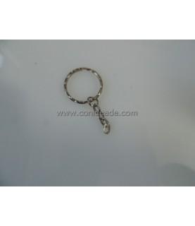 Anilla llavero de 25mm con cadena