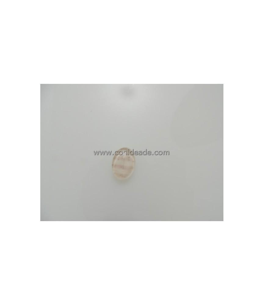Cabuchon cristal partitura 18x13mm