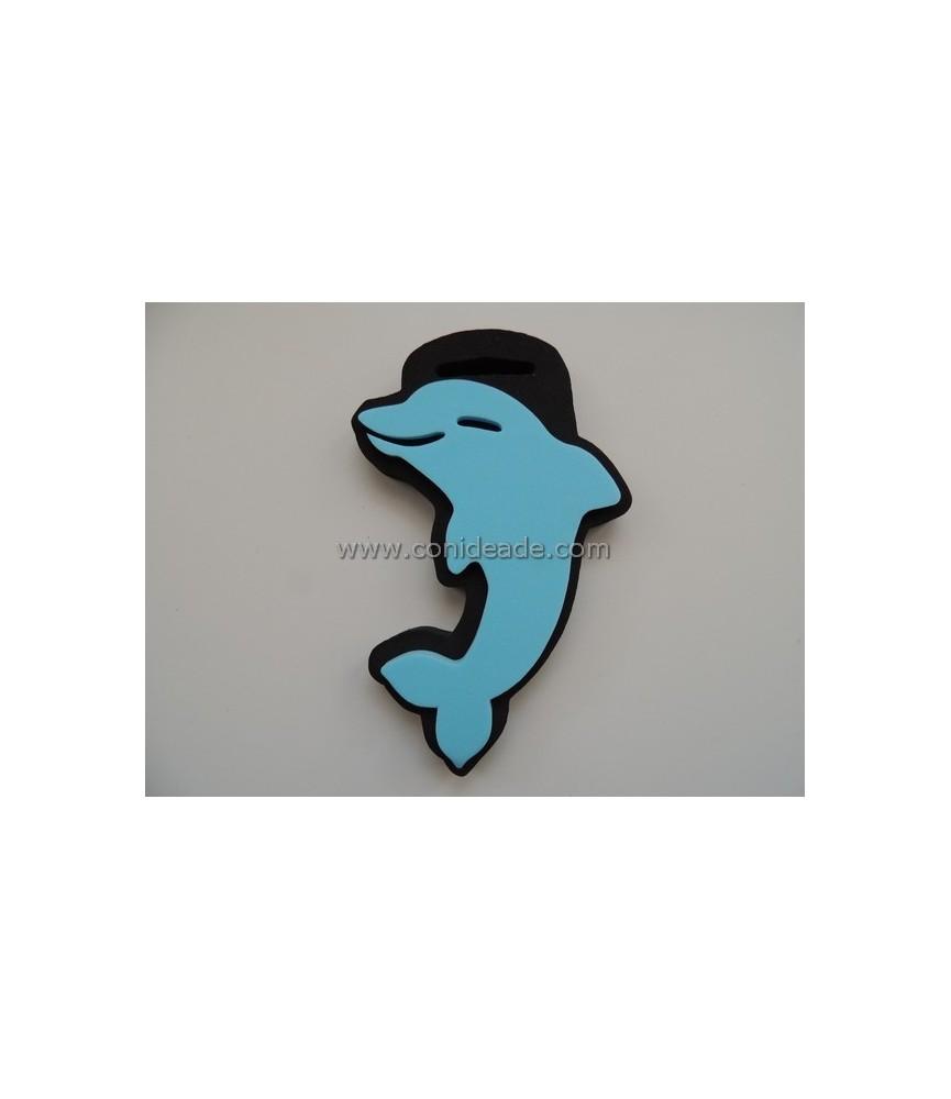Sello de foam delfin