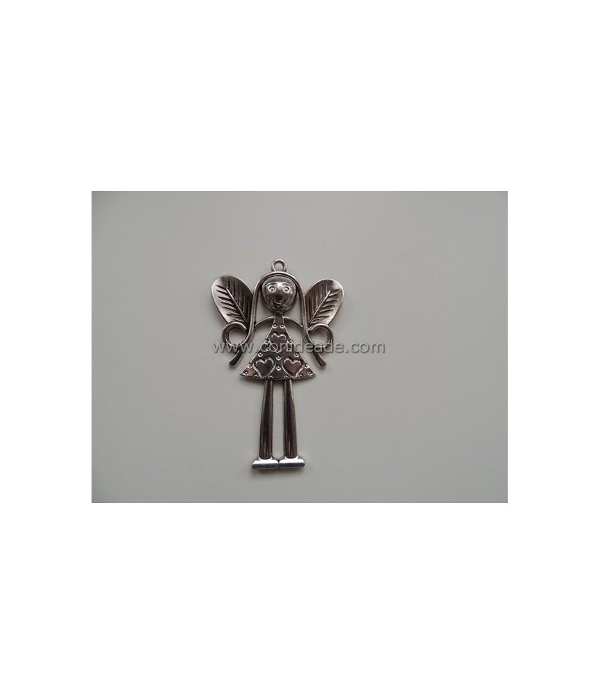 Colgante Angel plata grande