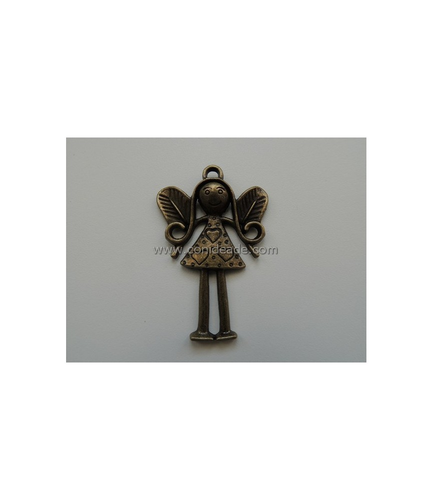 Colgante Angel bronce 5 cm