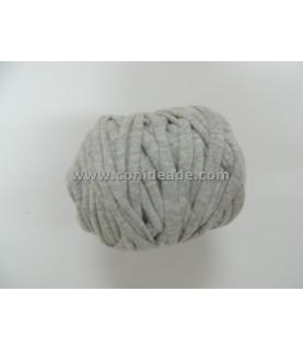 Mini rollo de trapillo gris claro