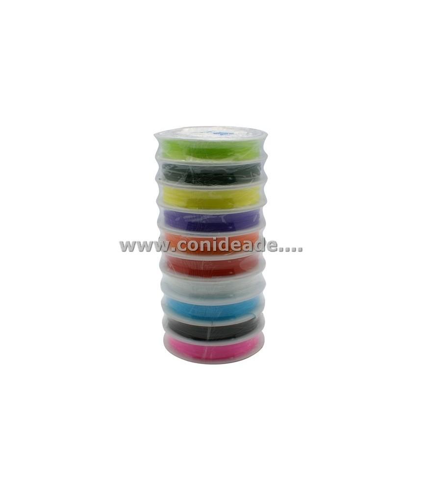 Hilo elástico 0,8 mm colores