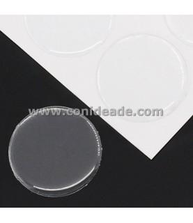 Pack 10 Cabuchon adhesivo redondo 30 mm