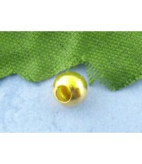 Pack de 25 chafas doradas 5mm