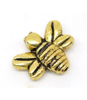 Cuenta dorada abeja
