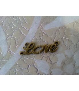 Charm love bronce