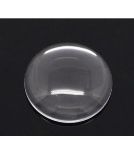 Cabuchon cristal redondo 25 mm