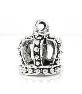Charm corona plata