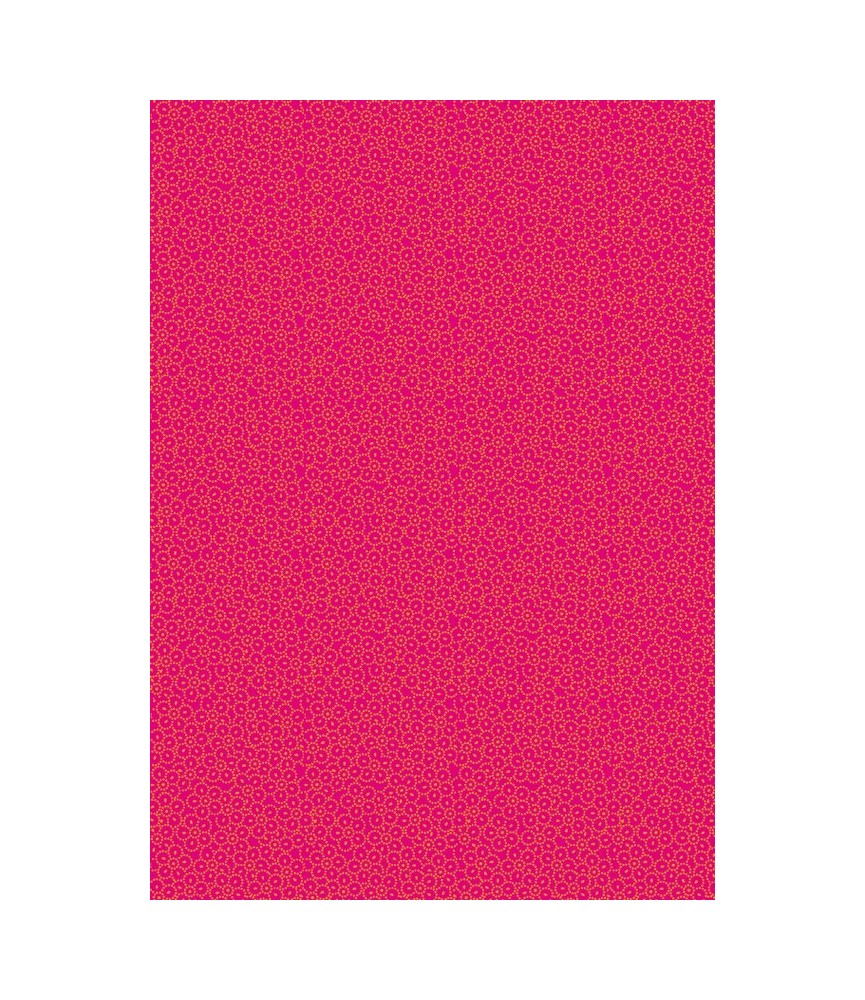 Papel decorativo para pegar mod flowers pink