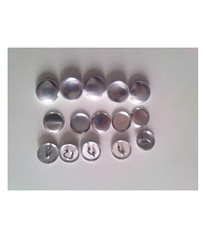 Botones para forrar talla 24