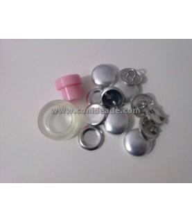 Pack Kit para forrar botones talla 30 y 8 botones
