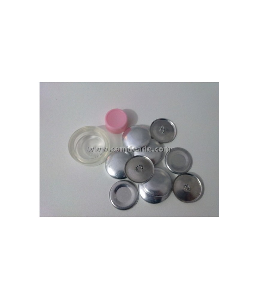 Pack Kit para forrar botones talla 36 y 6 botones