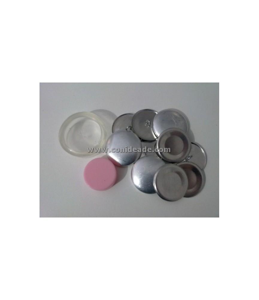 Kit para forrar botones talla 45 y 6 botones