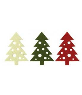 Pack 3 arboles de navidad