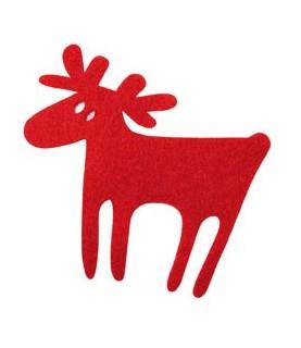 Pack 3 renos rojos
