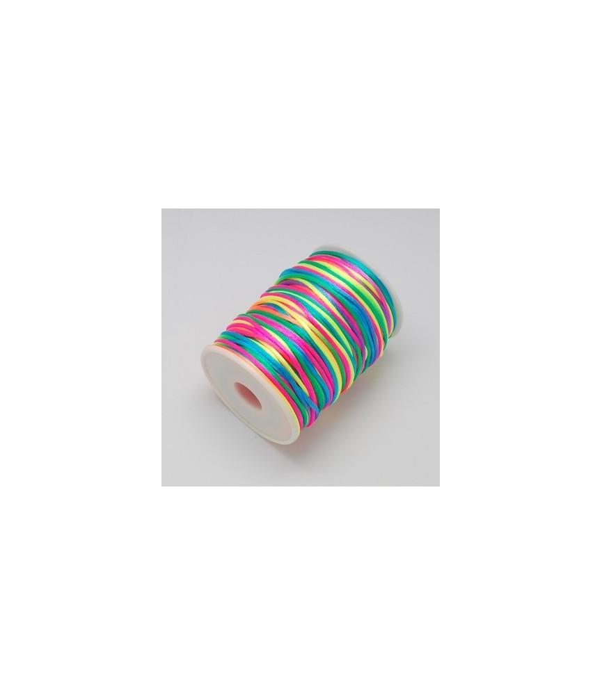 Cola de ratón multicolor
