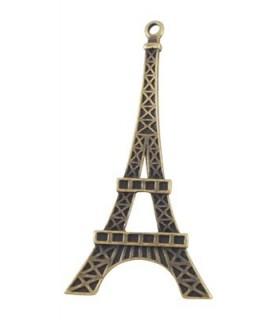 Colgante Torre Eiffel color bronce