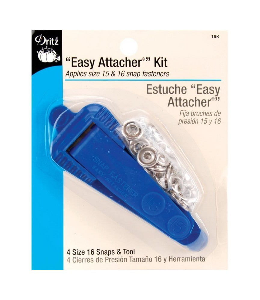 Kit para fijar botones a presión