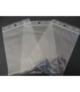 Pack de 100 Bolsas de plastico con cierre 8x12 cm