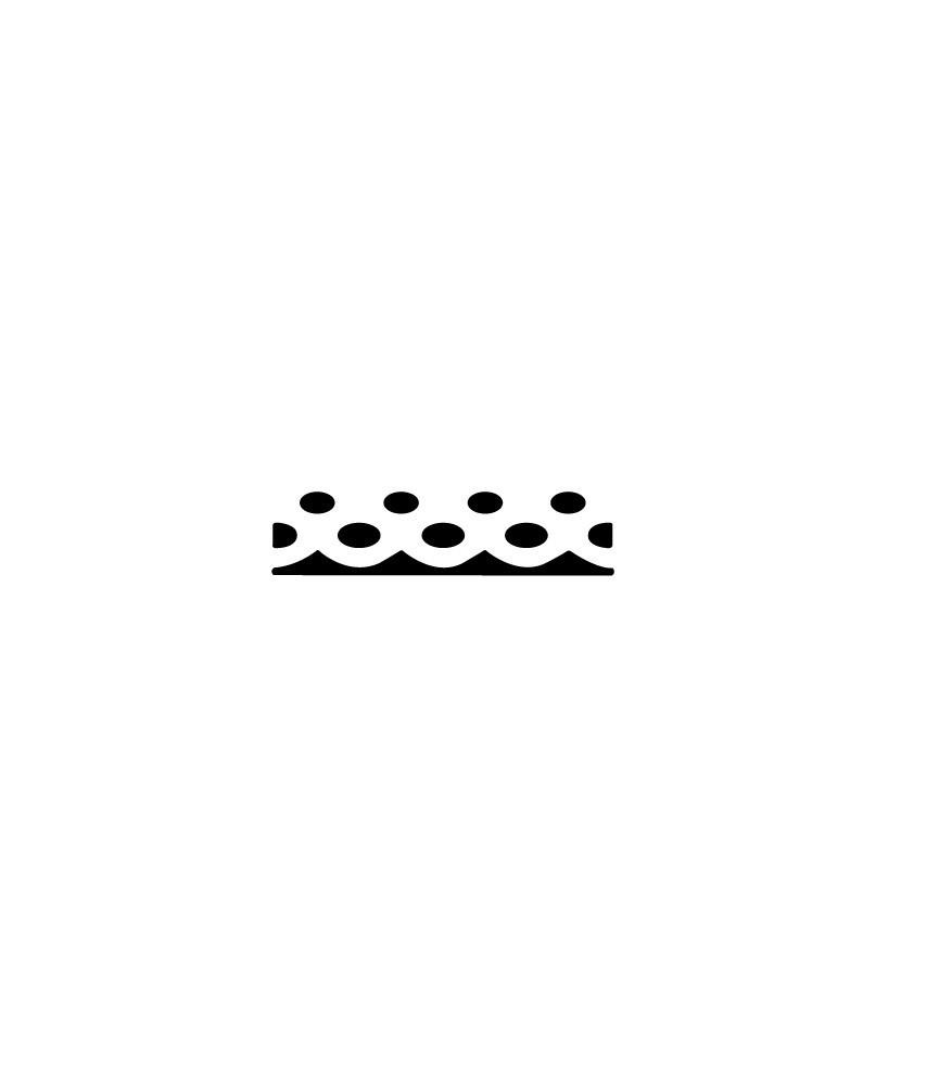 Perforadora de bordes puntos