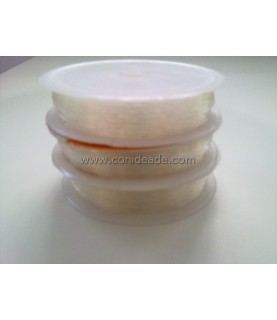 Hilo trasparente elástico 0,6 mm