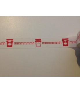 1 rollo de cinta adhesiva washi tape Mmmmhh