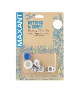 Kit forrar botones talla 20 y 6 botones