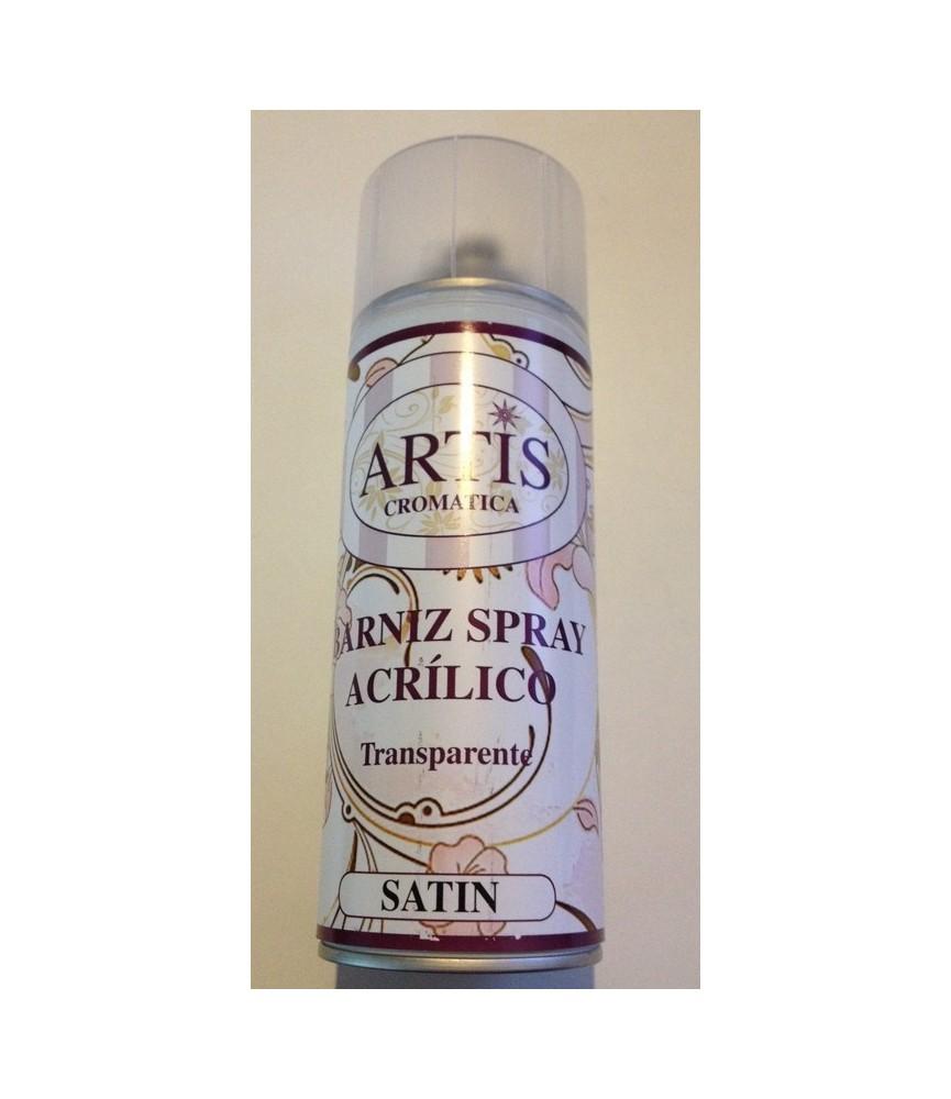 Barniz en spray acrilico Satinado