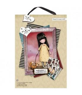 Pack A4 Decoupage gorjuss Friend