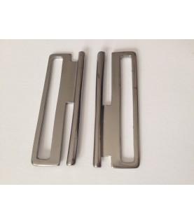 Hebillas para cinturón elástico 6 cm acero