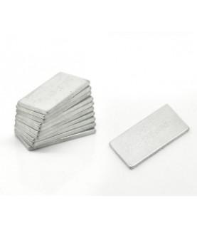 Iman rectangular de 20 x10 mm