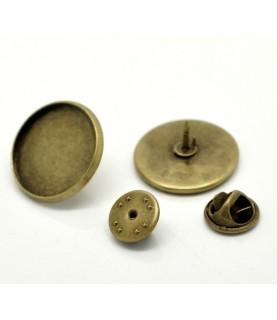 Base de 20 mm de pins en bronce