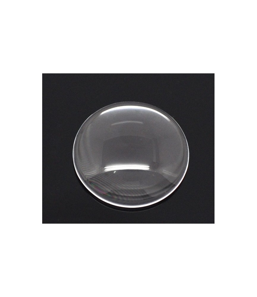 Cabuchon cristal de 20 mm