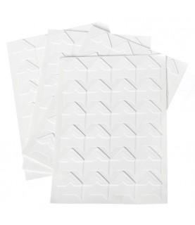 Pack de 24 Esquinas para foto blancas