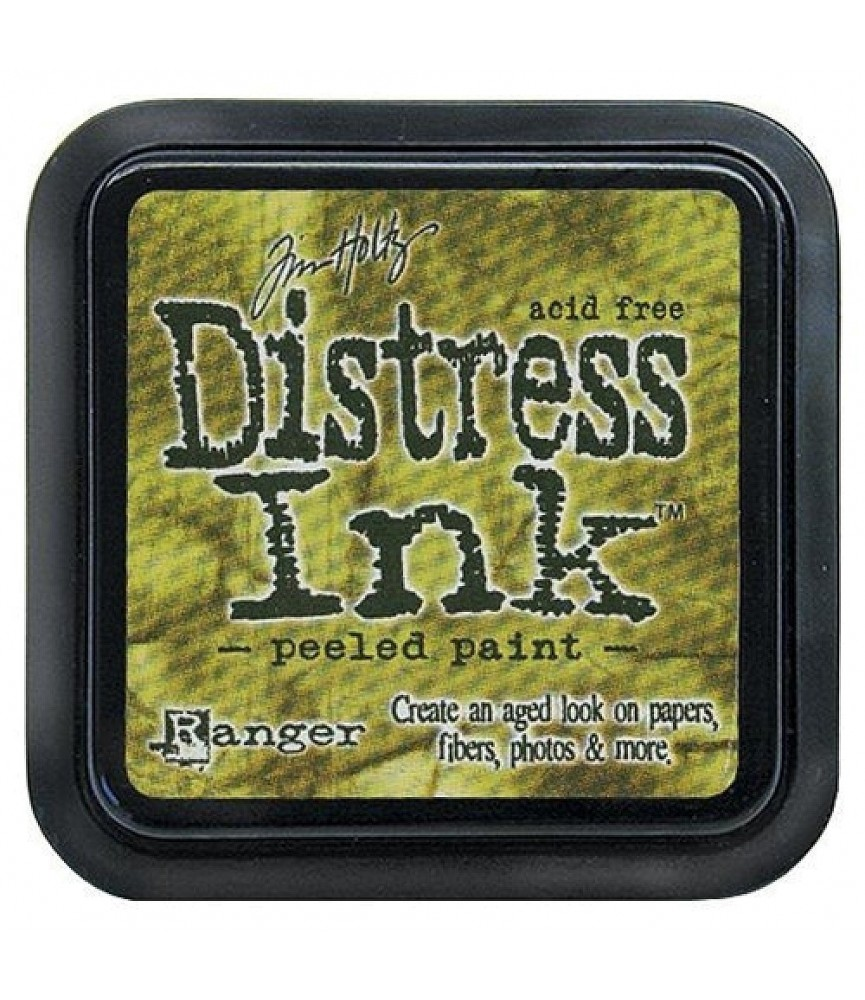 Tinta Distress Ink peeled paint