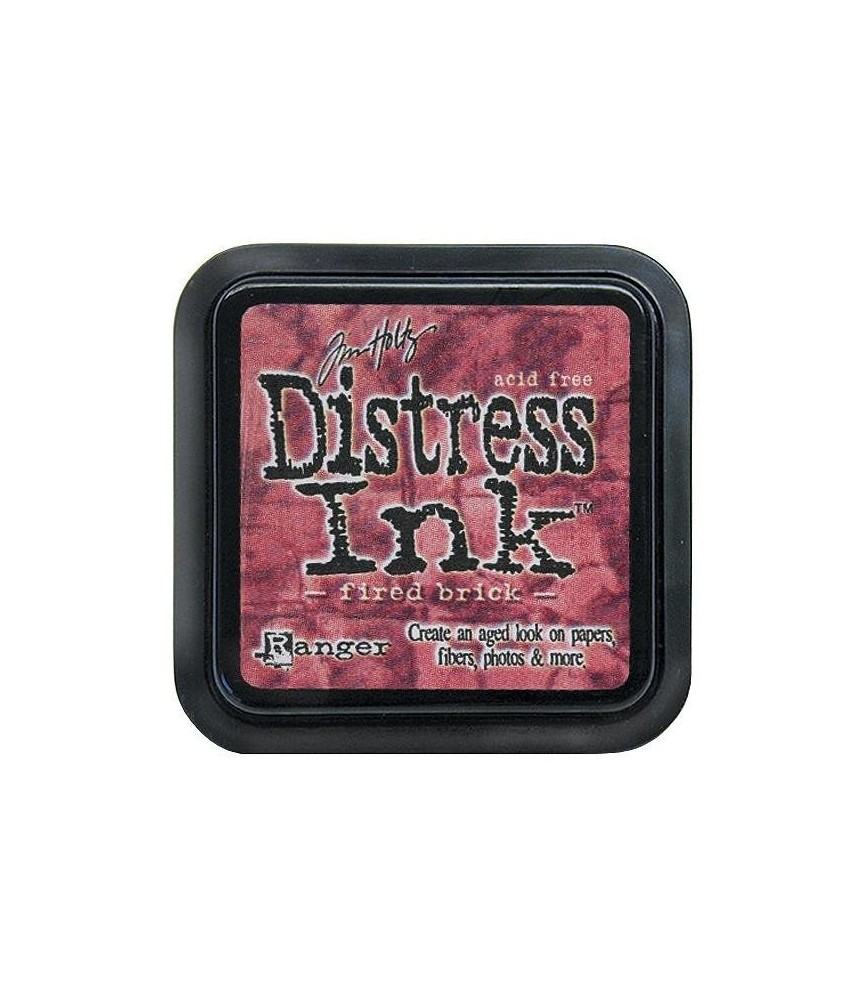 Tinta Distress Ink fired brick