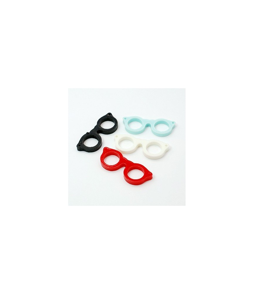 Pack 5 Charm gafas de resina