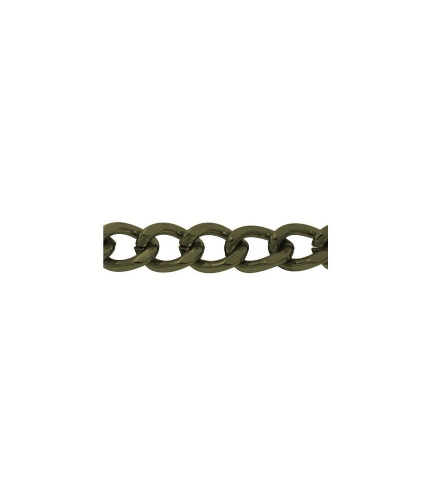 Cadena Bronce eslabon 7,6 x 5,5 x 1,5 mm