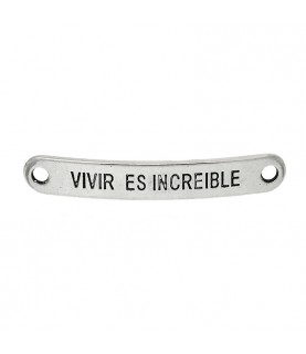 """Conector """"Vivir es increible"""""""