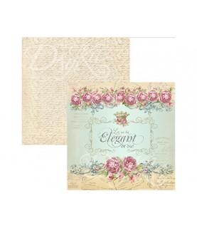 Papel scrap Romance Elegant 30x30