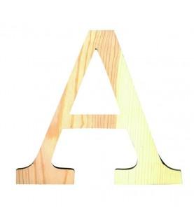 """Letra madera """"A"""""""