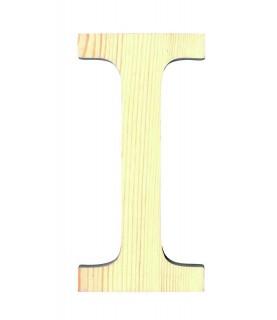 """Letra madera """"I"""""""