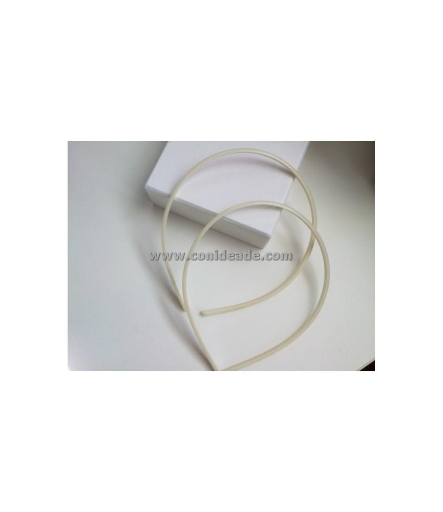 Diadema de plástico 5 mm para forrar
