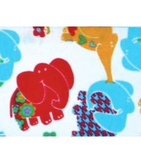 Tela popelin Mod elefantes 45x45