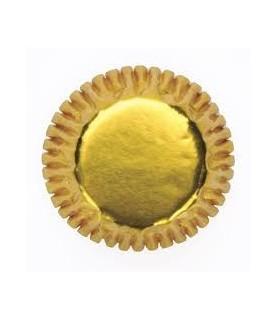 45 Mini capsulas doradas
