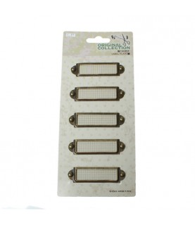 Pack 5 marcos de metal