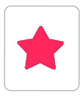 Perforadora de goma eva estrella