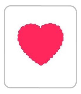 Perforadora de goma eva corazon