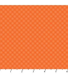 Tela harmony II rombos naranja